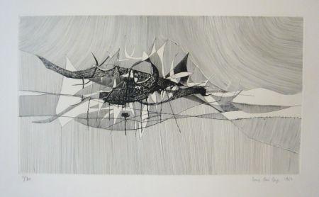 Гравюра Berge - Impression marine