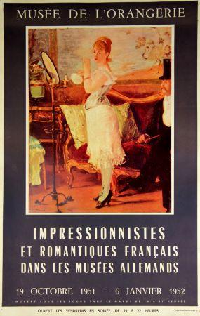Гашение Manet - Impressionistes et Romantiques  Musee de L'Orangerie