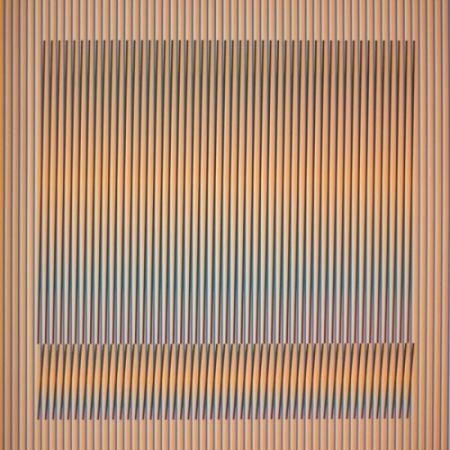 Литография Cruz-Diez - Induction Chromatique a double fréquence Série Orinoco 1