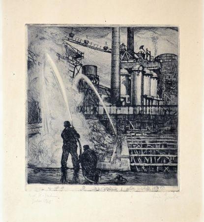 Офорт Balsamo Stella - Industrial theme