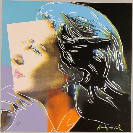 Гашение Warhol - Ingrid Bergman