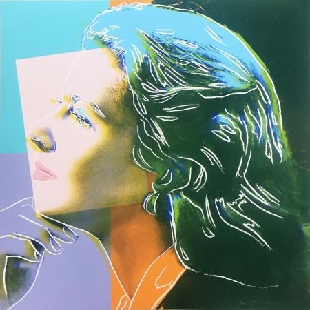 Сериграфия Warhol - Ingrid Bergman: Herself