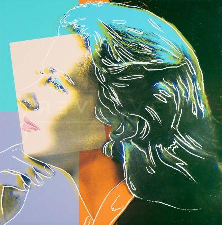Сериграфия Warhol - Ingrid Bergman, Herself (Fs Ii.313)