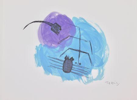 Литография Takis - Insectes