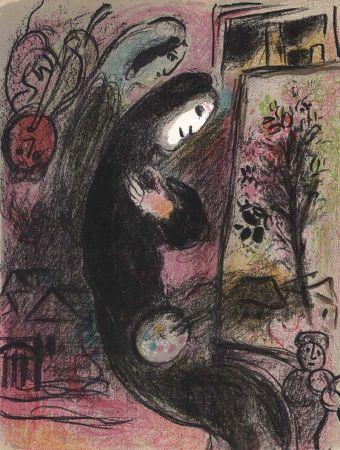Литография Chagall - Inspiration