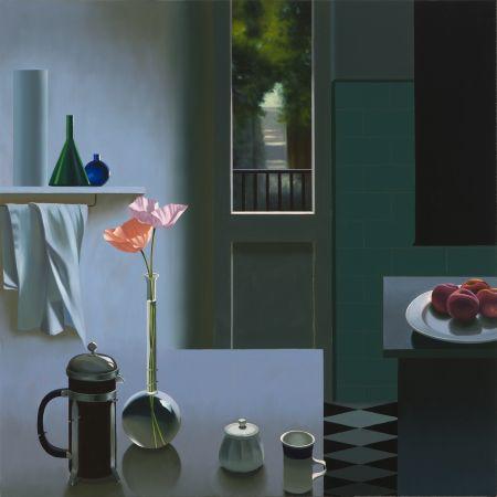 Нет Никаких Технических Cohen - Interior with Coffee Pot and Poppies