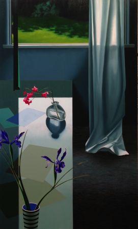 Нет Никаких Технических Cohen - Interior with Iris and Sweet Peas