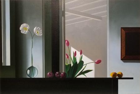 Нет Никаких Технических Cohen - Interior with Sunlit Tulips
