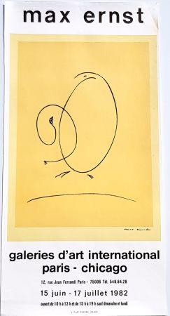 Литография Ernst - International Art Gallery Paris- Chicago