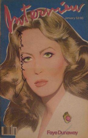 Многоэкземплярное Произведение Warhol - Interview – January 1982