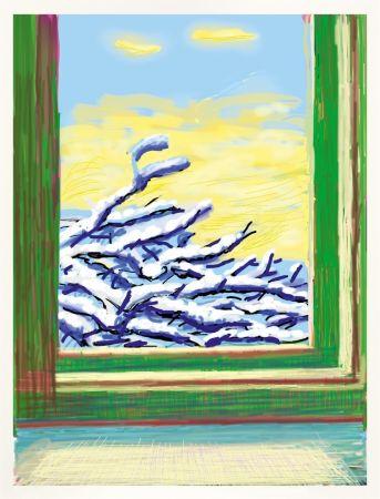 Нет Никаких Технических Hockney - IPad drawing `No 610`, 23rd December 2010