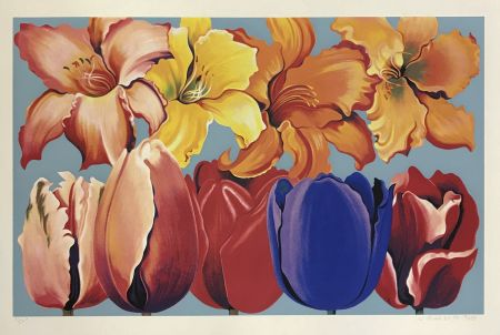 Сериграфия Nesbitt - ISLAND OF FLOWERS