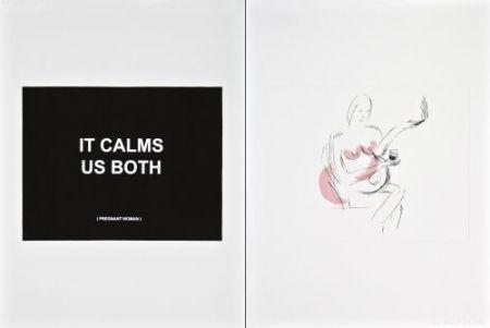 Гравюра Prouvost  - It calms us both 2