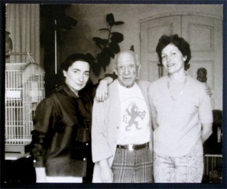 Фотографии Picasso - Jacqueline, Picasso et Gilberte Brassai (