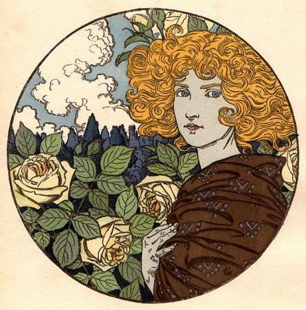 Литография Grasset - Jalousie