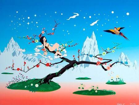 Литография Chiho - Japanese Apricot