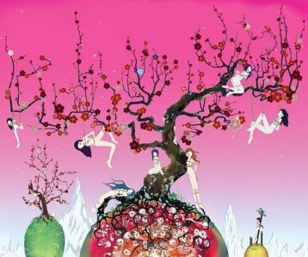 Литография Chiho - Japanese Apricot 3