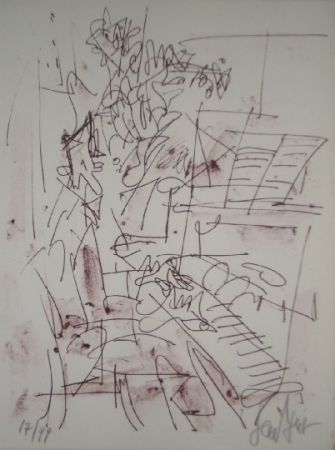 Литография Paul  - Jazz