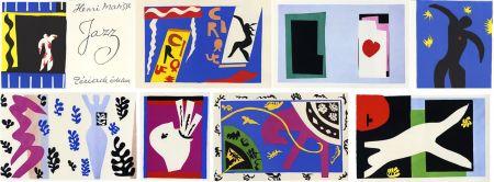 Иллюстрированная Книга Matisse - JAZZ (20 lithographies en couleurs hors-texte).