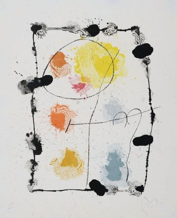 Литография Miró - Je Travaille Comme Un Jardinier (I Work Like A Gardener), 1963