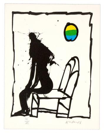Литография Alechinsky - Je vous en prie asseyez-vous