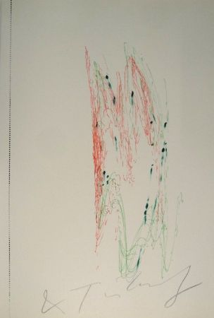 Иллюстрированная Книга Tinguely - Jean Tinguely