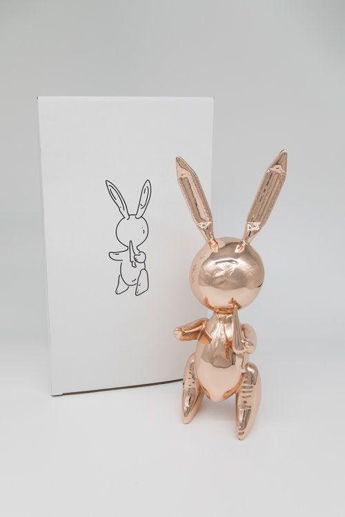 Нет Никаких Технических Koons - Jeff Koons (After) - Balloon Rabbit Rose Gold