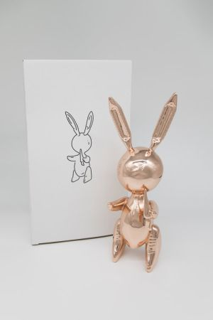 Нет Никаких Технических Koons - Jeff Koons (After) - Balloon Rabbit Rose Gold