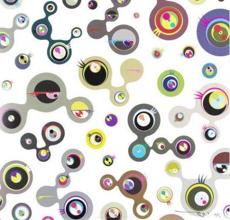 Литография Murakami - Jellyfish Eyes – White 4