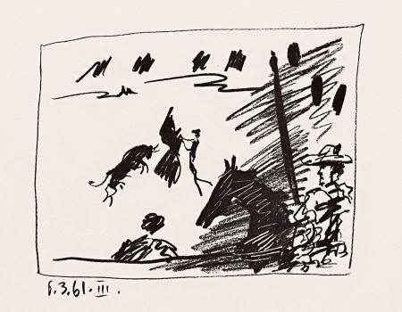 Литография Picasso - Jeu de la Cape