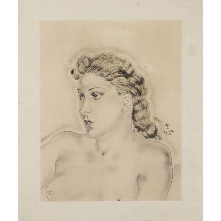 Многоэкземплярное Произведение Foujita - Jeune Femme Blonde ,1931