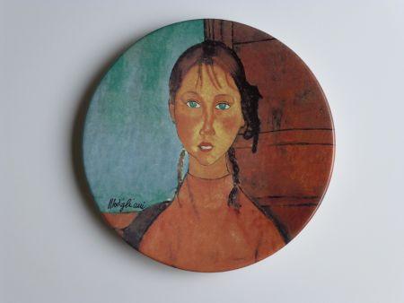 Нет Никаких Технических Modigliani - Jeune fille aux yeux verts