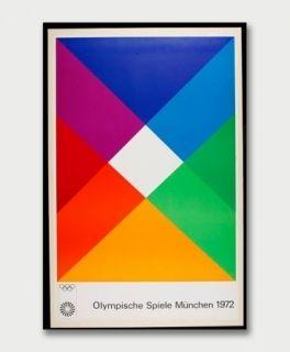 Сериграфия Bill - Jeux Olympiques de Munich 1972
