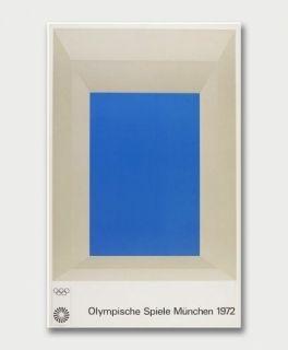 Сериграфия Albers - Jeux Olympiques de Munich 1972