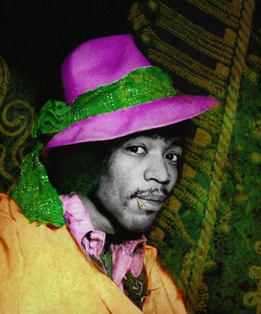 Фотографии Mankowitz - Jimi with Hat