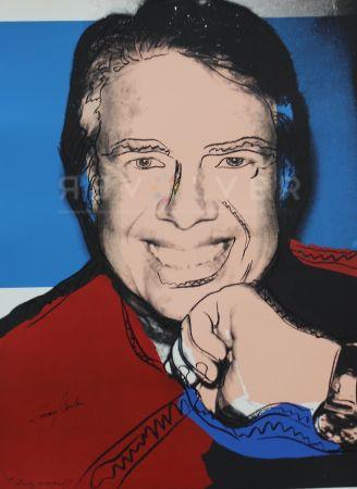 Сериграфия Warhol - Jimmy Carter II (FS II.151)
