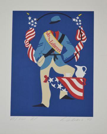 Литография Indiana - Jo the Loiterer - Mother of us all portfolio