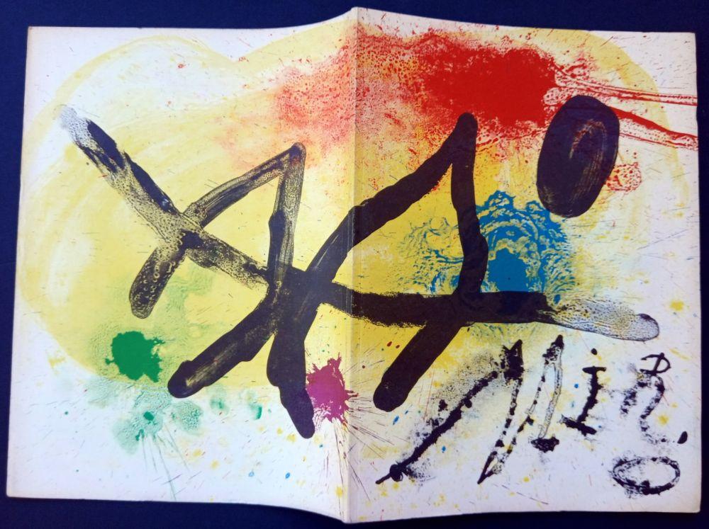 Иллюстрированная Книга Miró - JOAN MIRÒ. OEUVRE GRAPHIQUE ORIGINAL. CÉRAMIQUES - HOMMAGE MICHEL LEIRIS
