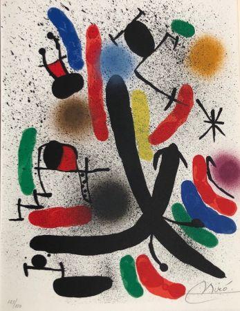 Литография Miró - Joan Miró Litografo I