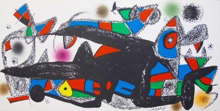 Литография Miró - Joan Miro - Miró Escultor . Dinamarca 40 X 20 Cm.firmada En Plancha