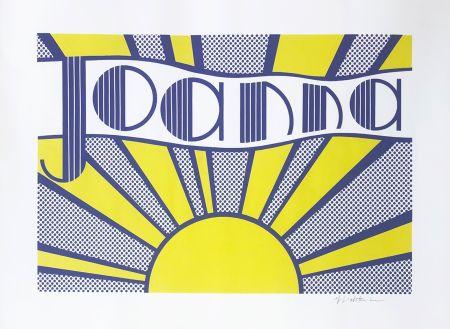 Литография Lichtenstein - Joanna (C. III.24)