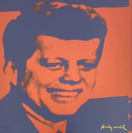 Гашение Warhol - John F. Kennedy