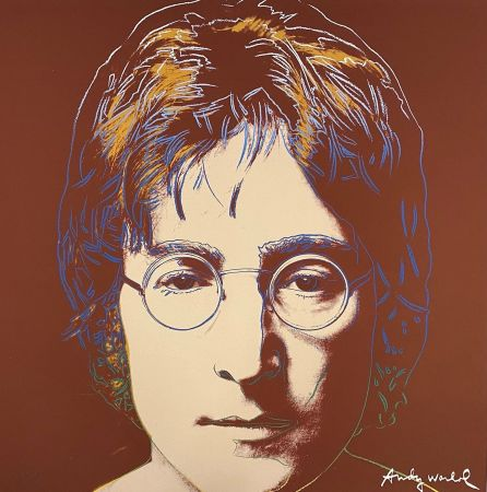 Гашение Warhol - John Lennon