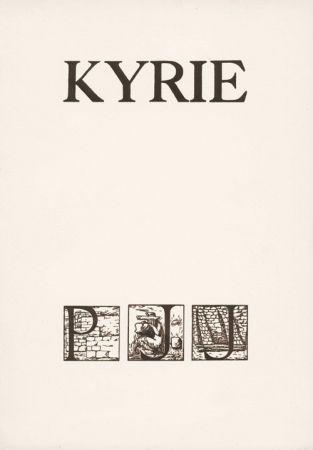 Иллюстрированная Книга Sima -  JOUVE (Pierre Jean).  Kyrie.