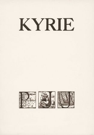 Иллюстрированная Книга Sima - JOUVE (Pierre Jean). Kyrie