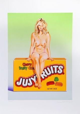 Литография Ramos - Jujyfruit Judy
