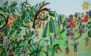 Литография De Saint Phalle - Jungle