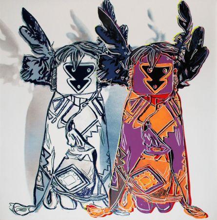 Сериграфия Warhol - Kachina Dolls (FS II.381)