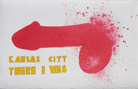 Литография Dine - Kansas City There I Was (1970)