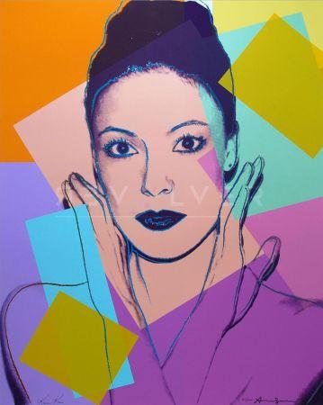 Сериграфия Warhol - Karen Kain (Fs Ii.236)